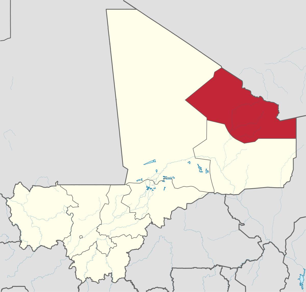 mali karta Kidal i Mali karta   Karta över kidal i Mali i Västra Afrika   Afrika) mali karta